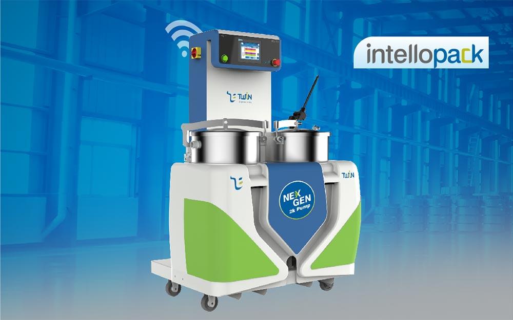 2K Pack Pump For Adhesive Dispensing In Solventless